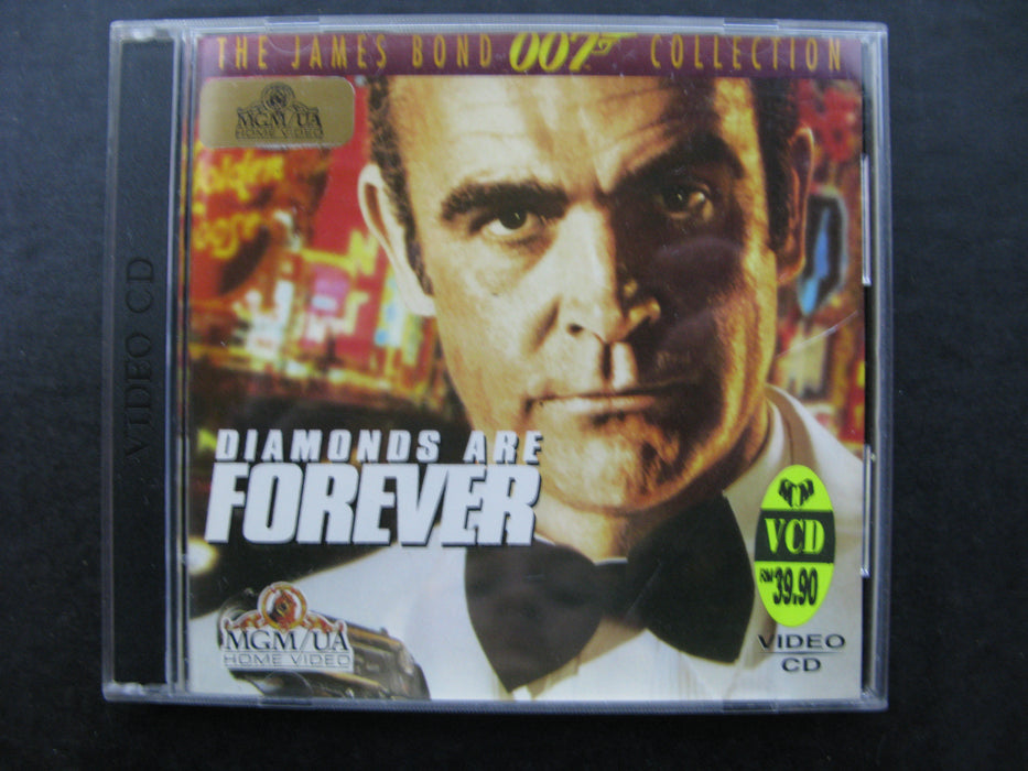 Diamonds are Forever Video CD