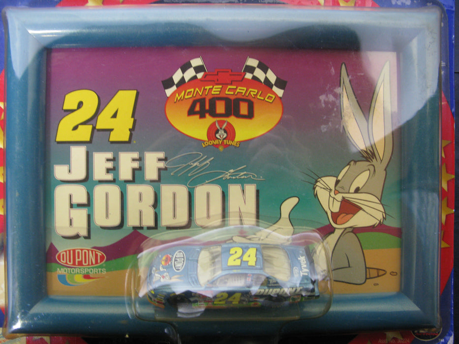 #24 Jeff Gordon  Framed Art and 1/64th Scale Car