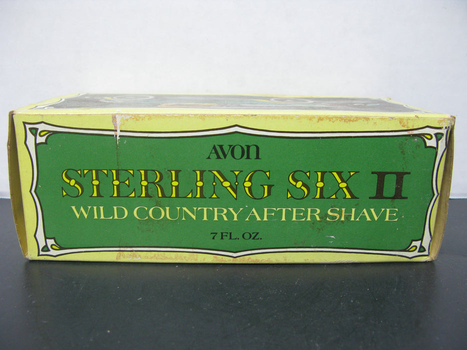 Avon Sterling Six II - Wild Country After Shave