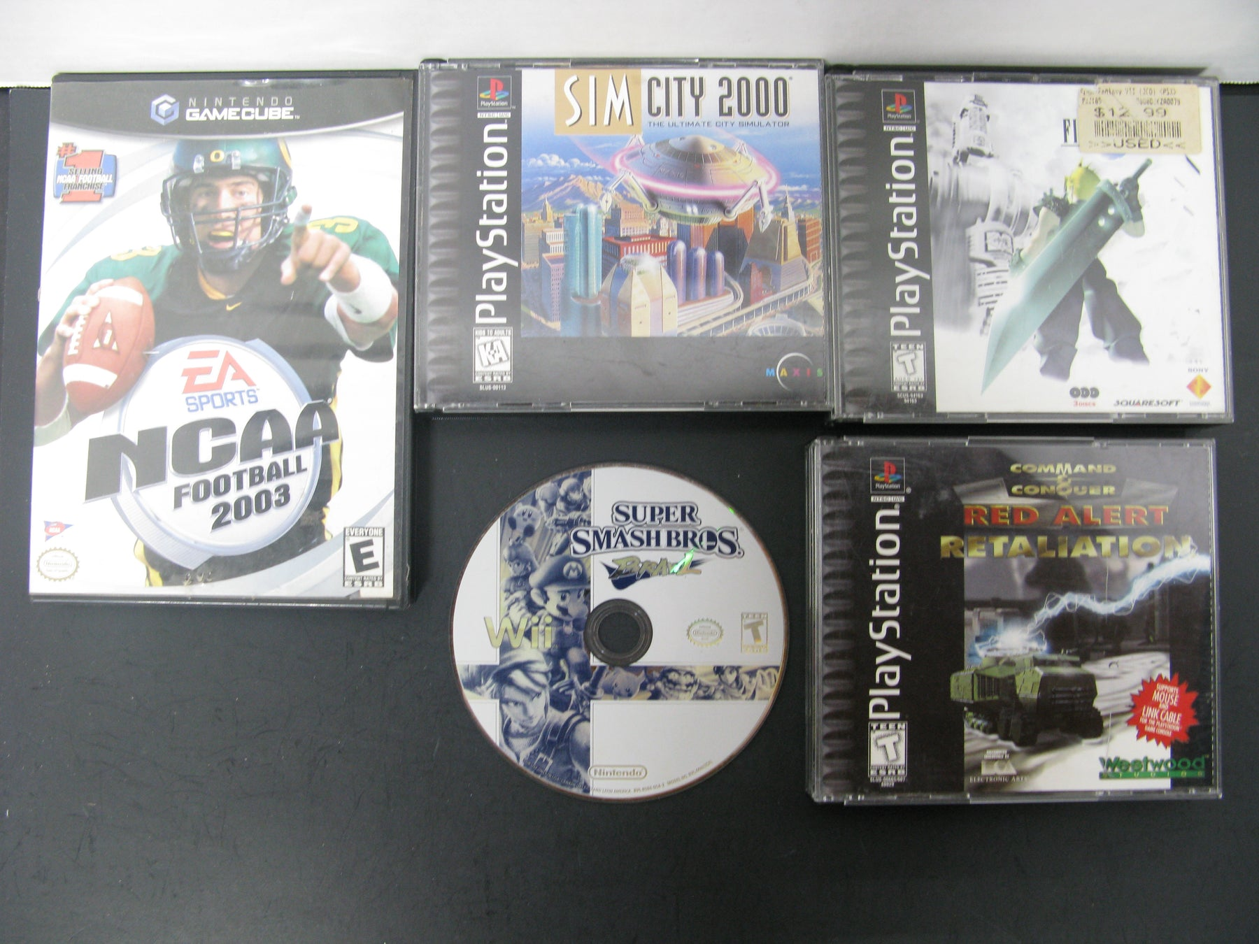 Scratch up Special Lot of Video Games