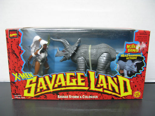 X-Men Savage Land - Savage Storm and Colossus