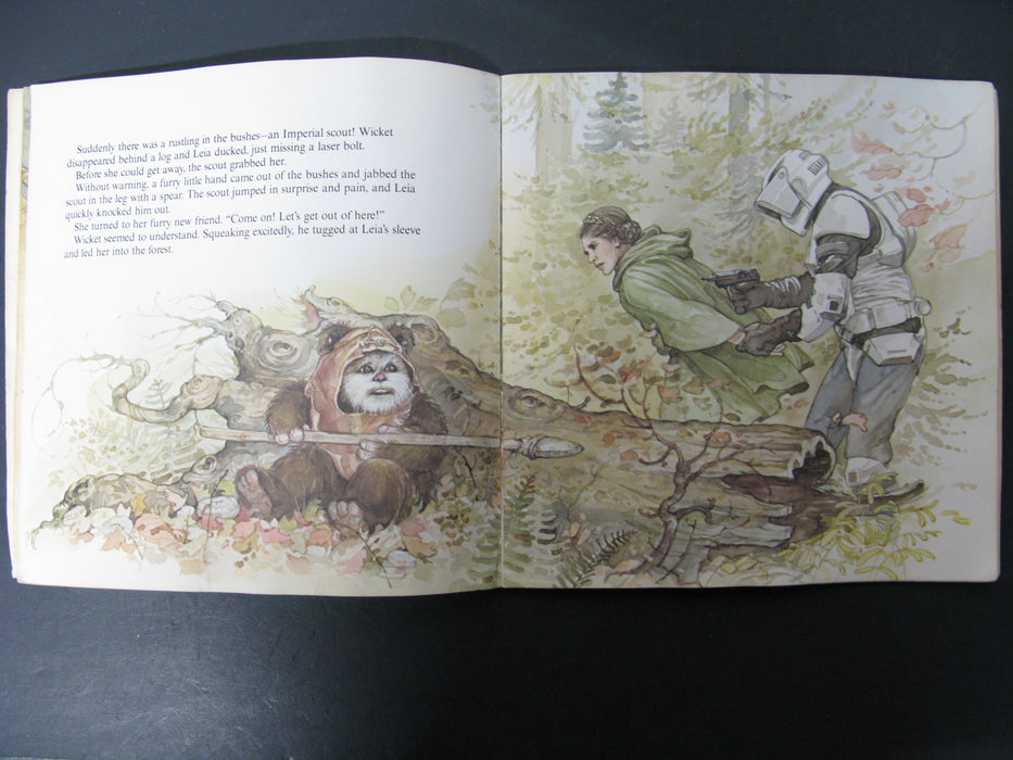 Star Wars Return of the Jedi - The Ewoks Join the Fight Book