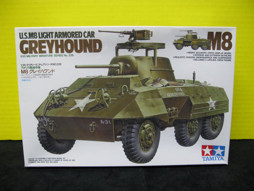 Tamiya Greyhound M8 1/35 Model Tank