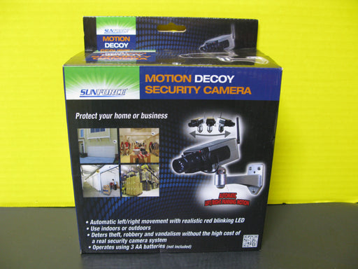 Motion Decoy Security Camera