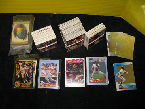 Collection of Assorted Sports Trading Cards