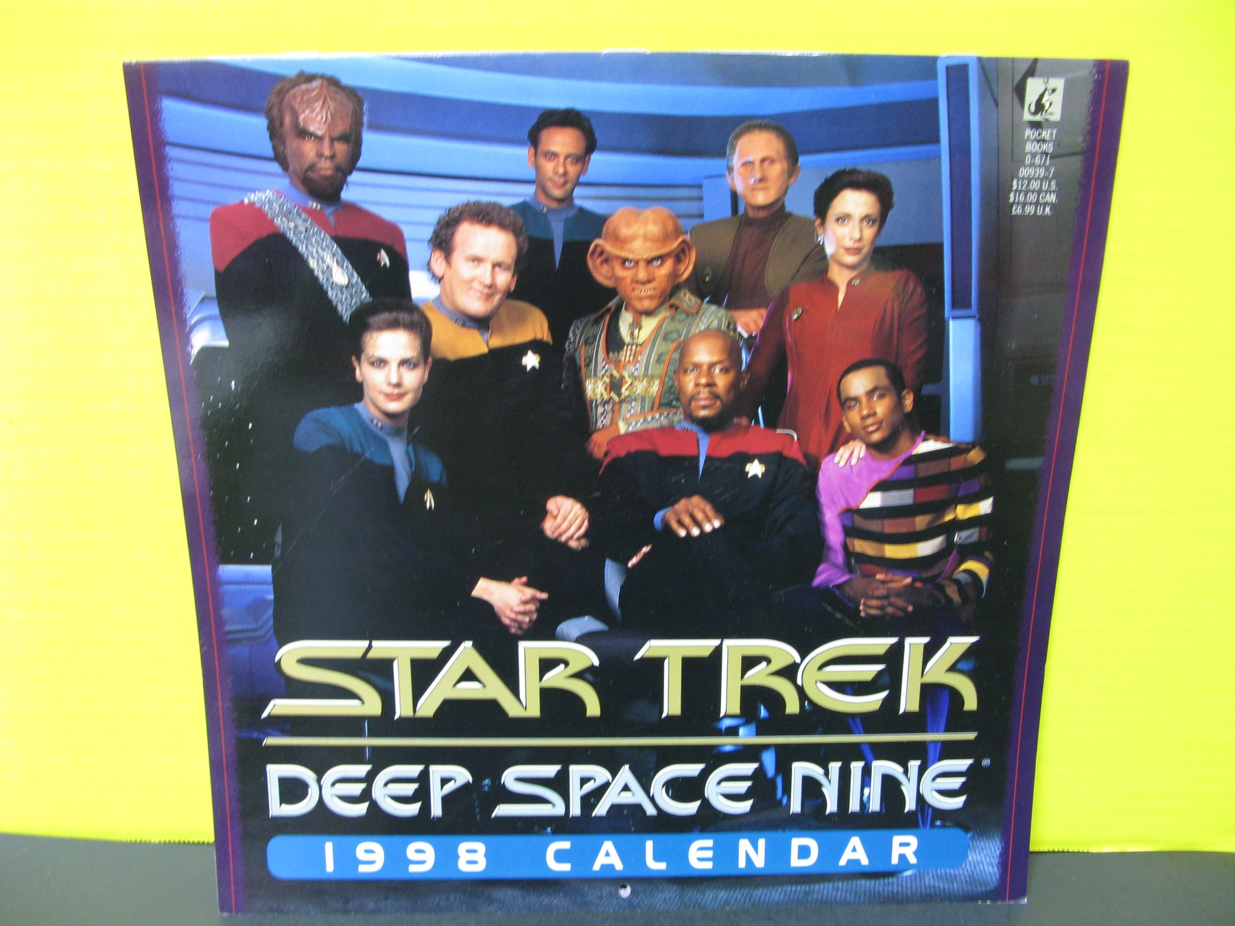 1998 Star Trek Deep Space Nine Calendar