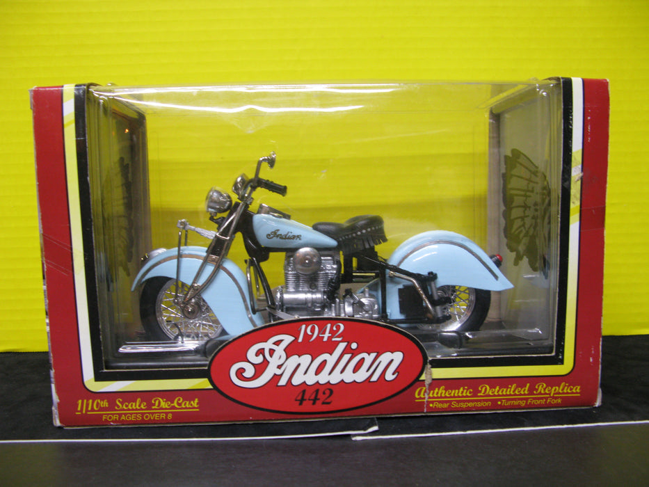 Indian 442 Die-Cast Motorcycle Replica