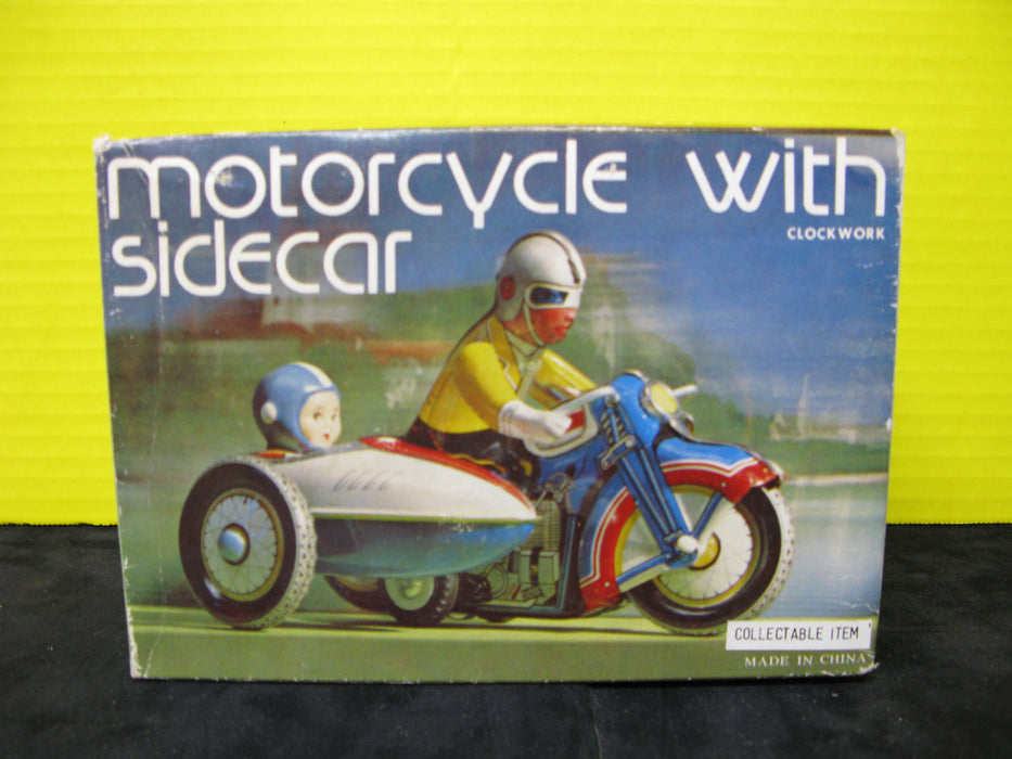 Motorcycle with Sidecar by Clockwork
