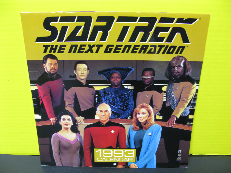 1993 Star Trek The Next Generation Calendar