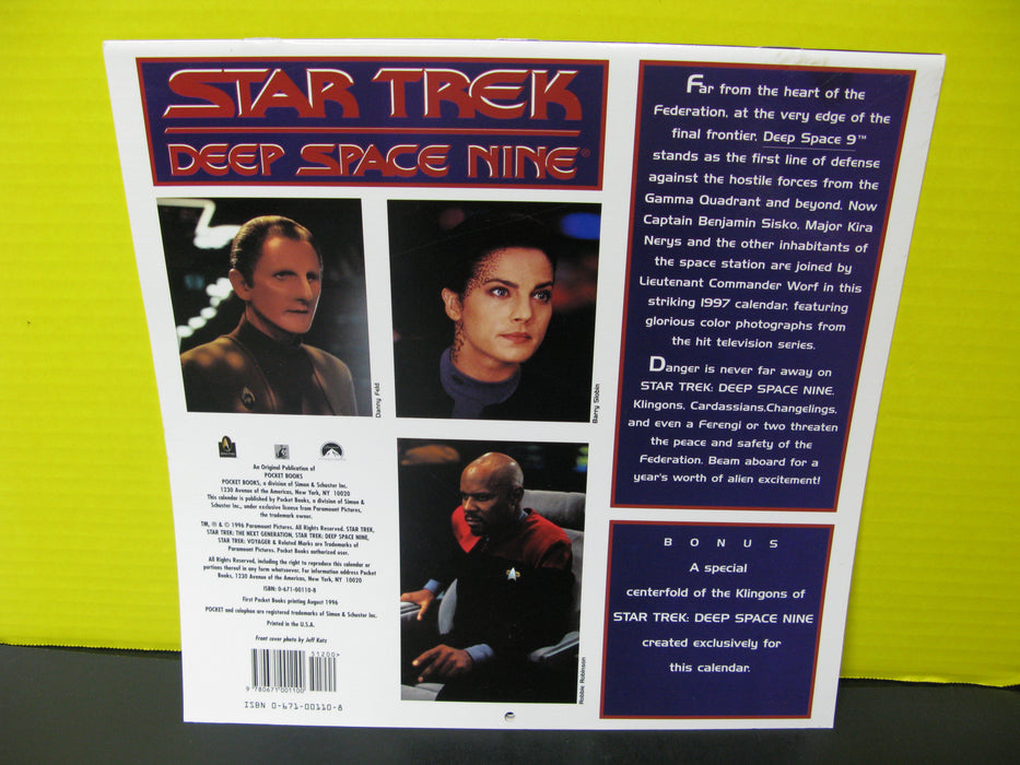 1997 Star Trek Deep Space Calendar