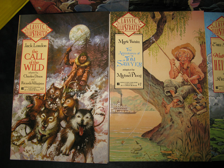 Collection of Classics Illustrated Books