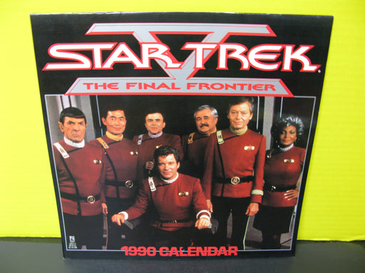 1990 Star Trek The Final Frontier Calendar