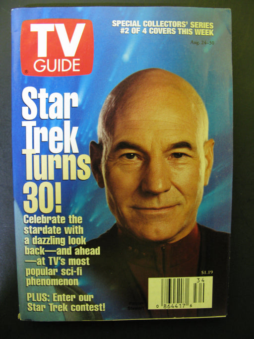 TV Guide Star Trek Magazines