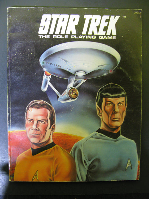 Star Trek The Role Playing Game Book