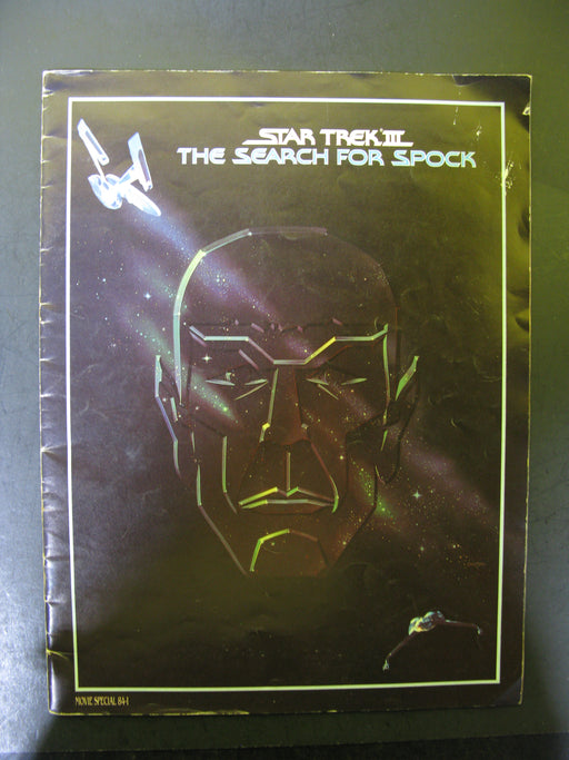Star Trek The Search for Spock Magazine Book