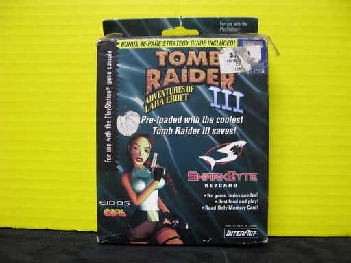 Tomb Raider III Shark Byte Key-card