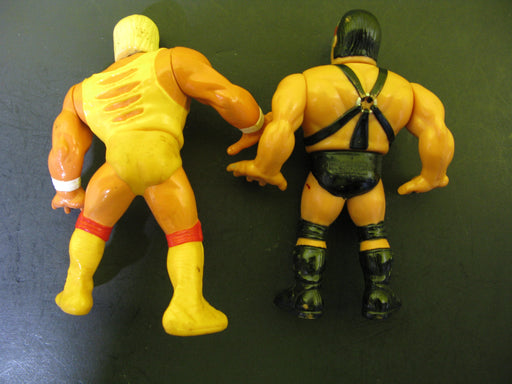 3 1990 Titan Sports Wrestling Action Figures