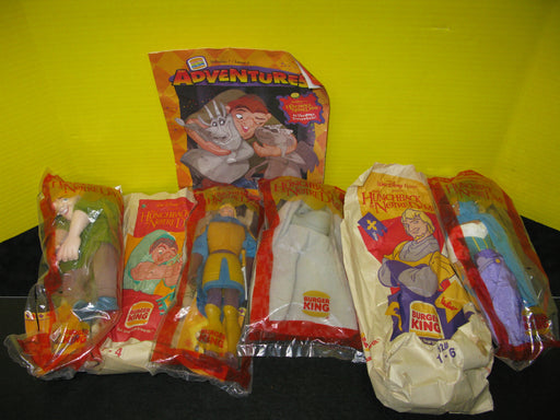 Hunchback of Notre Dame Burger King Toys