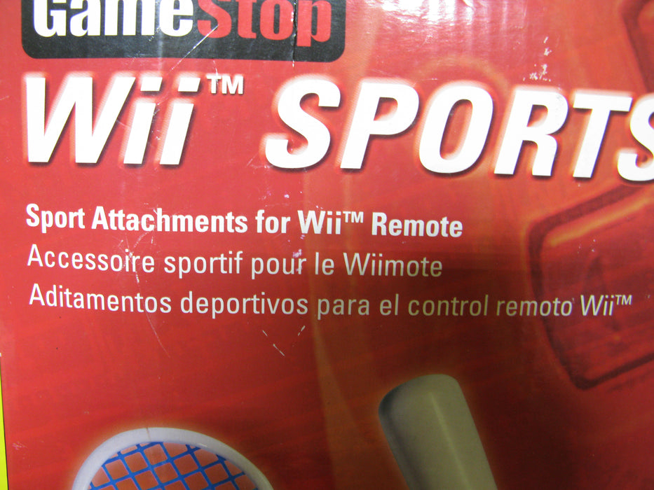 Wii Sports Pack Attachments for Wii Remote