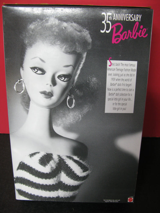 Original 1959 Barbie Doll and Package