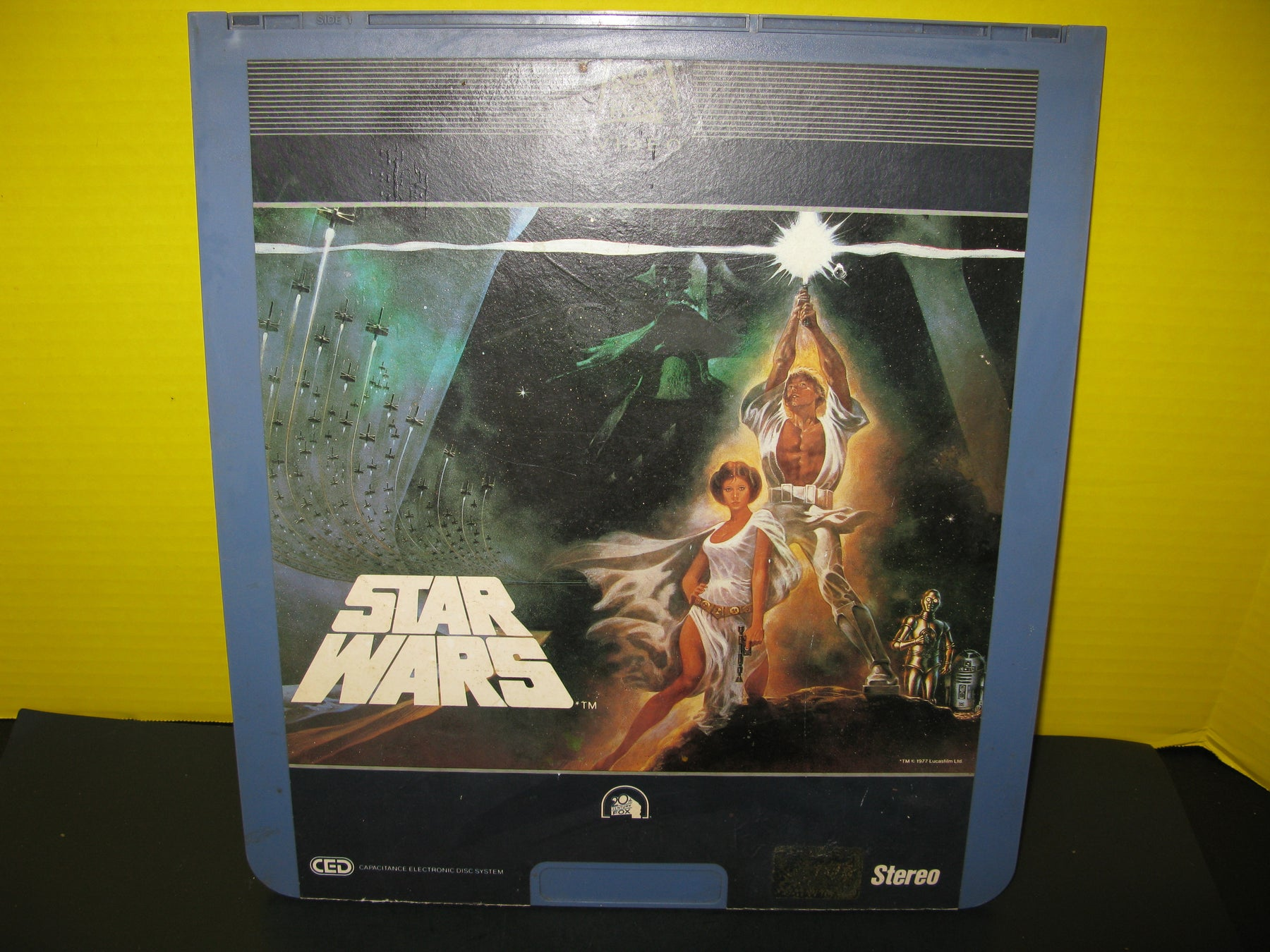 Star Wars Ced Capacitance Electronic Video Disc 1982 Fox First Release