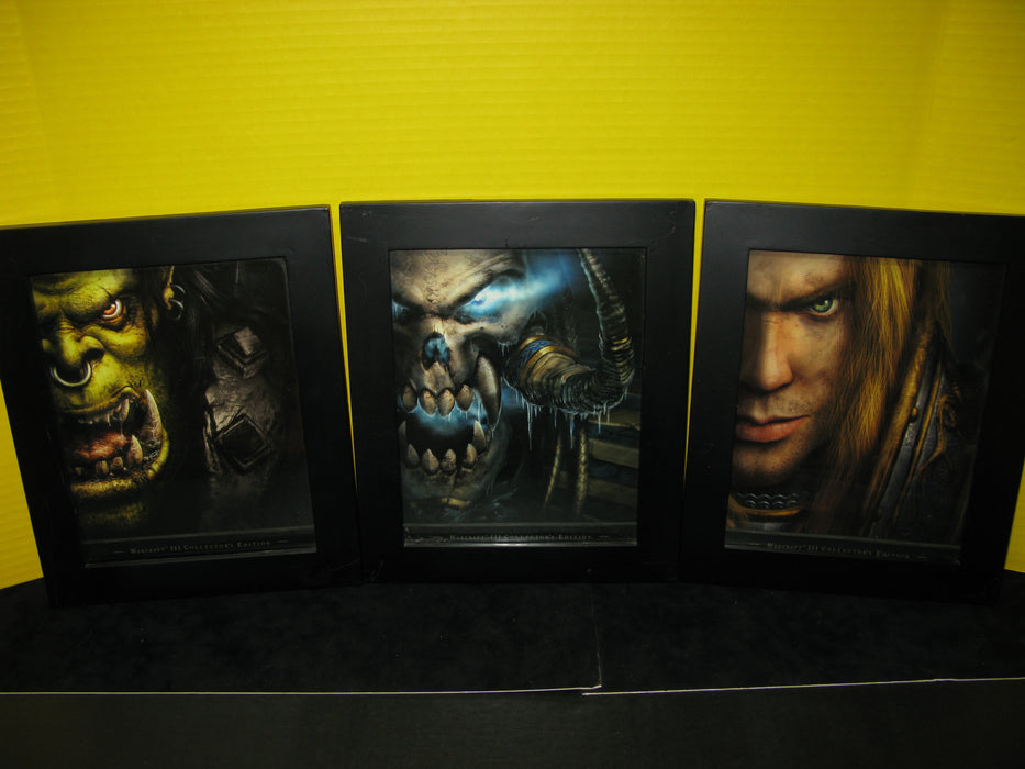 Warcraft III Collector's Edition Framed Covers