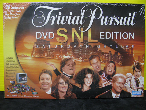Trivial Pursuit DVD SNL Edition Saturday Night Live Board Game