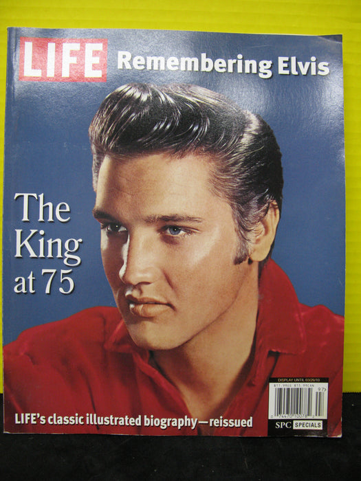 LIFE Remembering Elvis The King at 75 Illustrated Biography