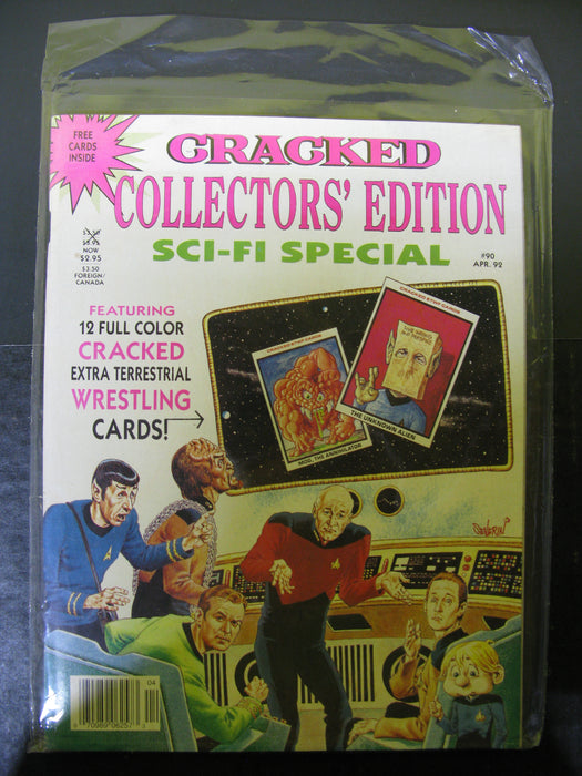 Cracked Collector's Edition Sci-Fi Special #90 April, '92