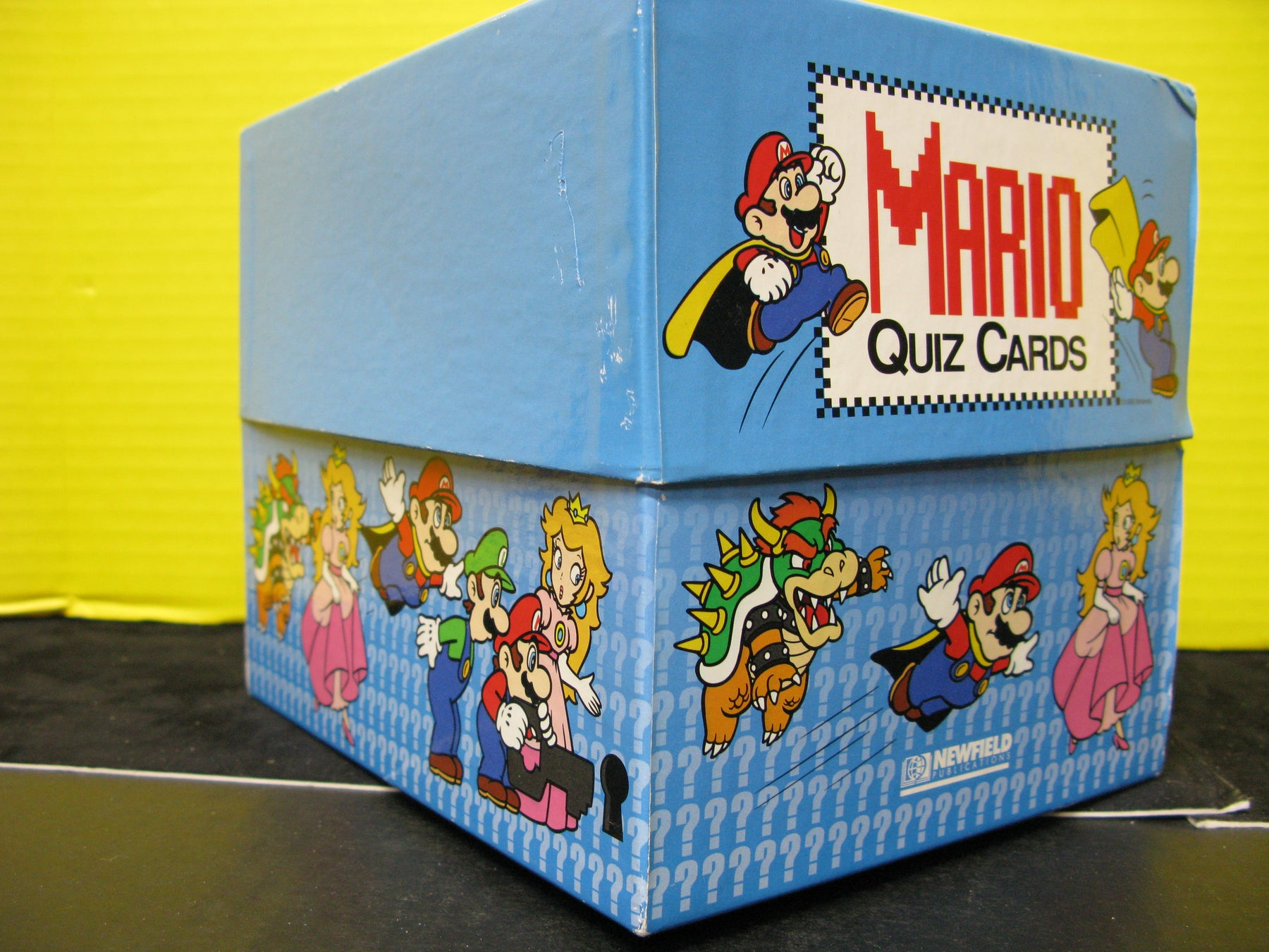 Mario Quiz Cards Game