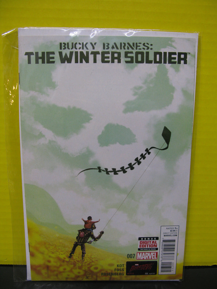 Bucky Barnes:The Winter Soldier 007 Marvel Comic