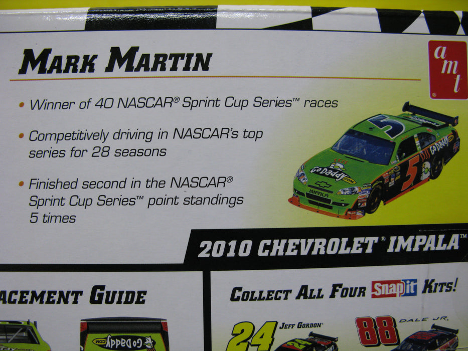 Nascar 2010 Chevrolet Impala 5 Mark Martin Car