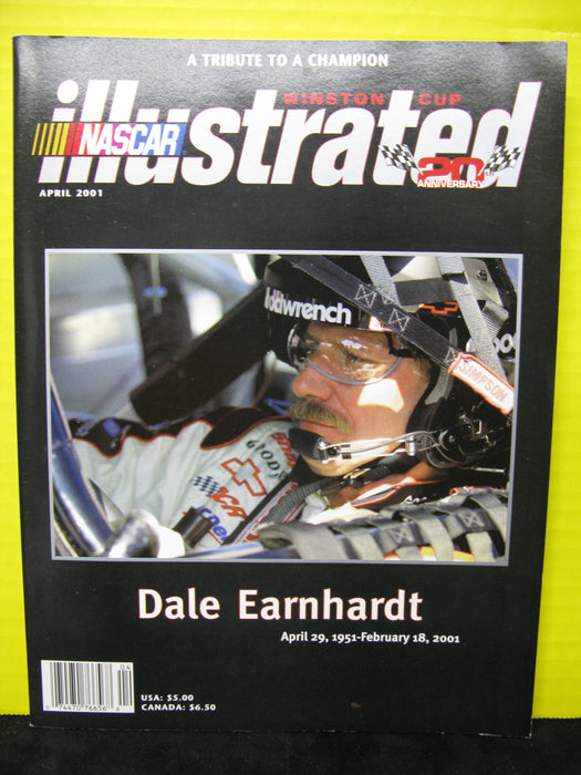 Set of 3 Dale Earnhardt NASCAR Legend Magazines