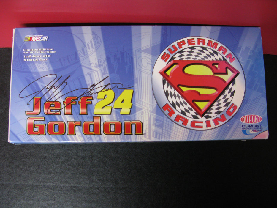 NASCAR Jeff Gordon 24 Superman Racing