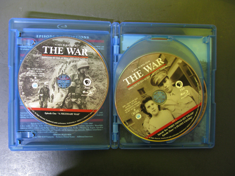 A Ken Burns Film The War Blu-ray Disc