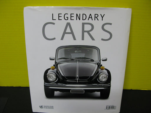 Legendary Cars by Larry Edsall Book