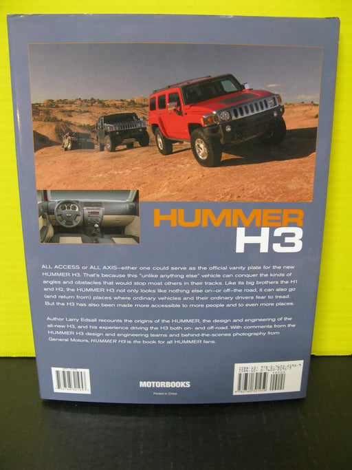 Hummer H3 by Larry Edsall Book