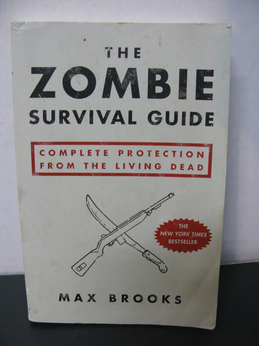 The Zombie Survival Guide Book by Max Brooks