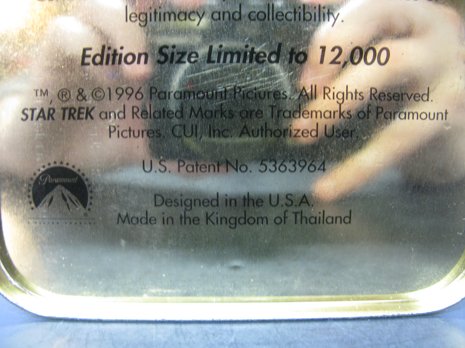 First Edition Star Trek The Original Series: 30th Anniversary - 20 All Metal Collector Cards