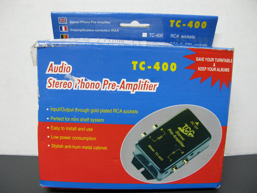 Audio Stereo Phono Pre-Amplifier TC-400