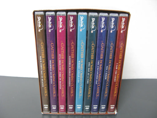 Gaither Homecoming Classics Set of 9 Dvds
