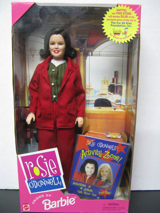 Rosie O'Donnell Friend of Barbie Doll Mattel