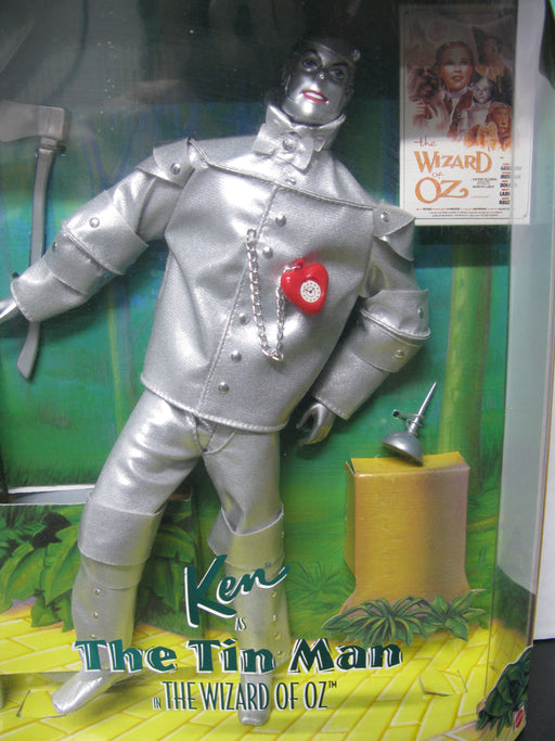 Ken as the Tin Man in Wizard of Oz