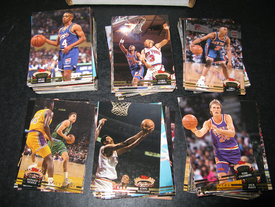 Basketball Cards 1990-1993