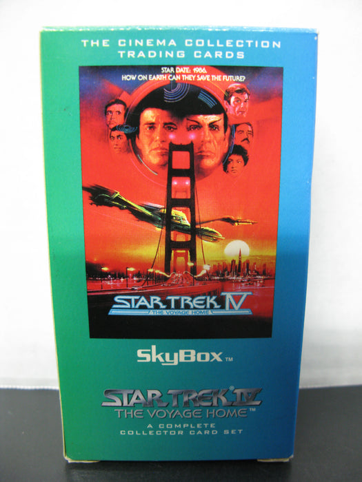 Star Trek 1-6 Complete Card Sets