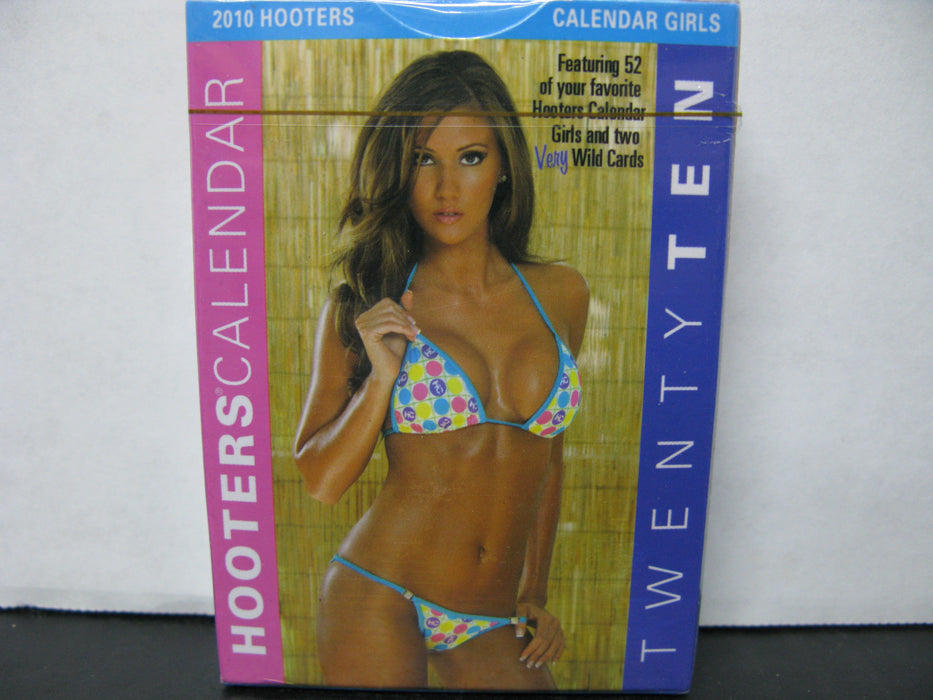 2010 Hooters Calendar Playing Cards