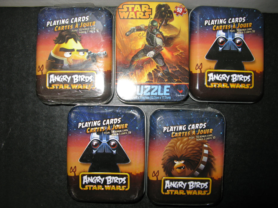 Angry Birds Star Wars Collection Including Playing Cards