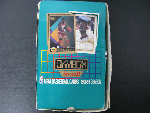 Skybox Series II NBA Basketball Cards 1990-91