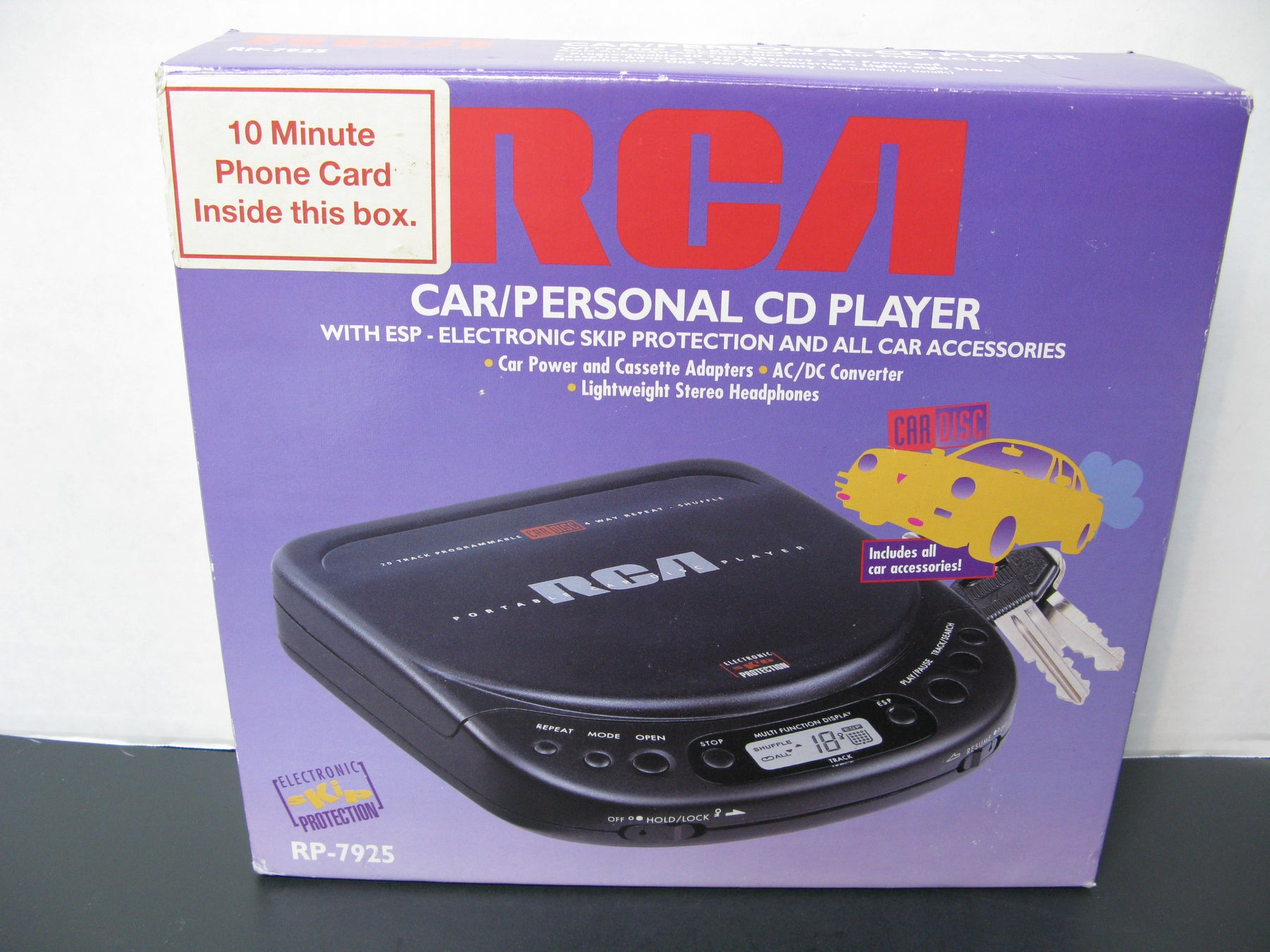 RCA Car/Personal CD Player