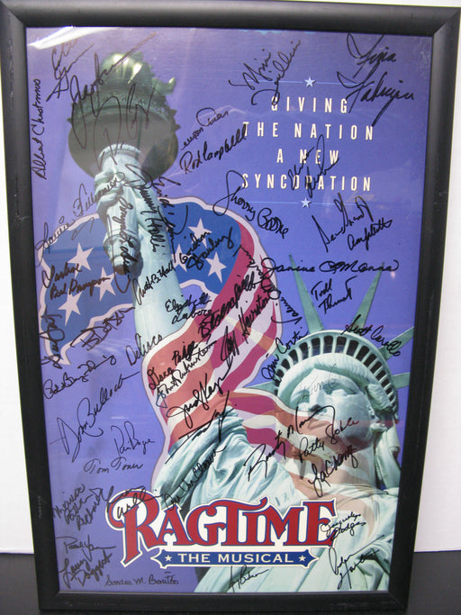 Framed and Signed Ragtime the Musical Poster